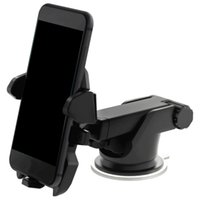 Wholesale mobile phone holder car for sale - Universal Mobile Car Phone Holder Degree Adjustable Window Windshield Dashboard Holder Stand For All Cellphone GPS Holders