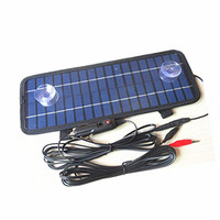 Wholesale car charger for sale - 12V W Multipurpose Portable Solar Battery Charger for Car Automobile Motor Tractor Boat Solar Battery Panel Power Car Charger