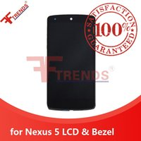 Wholesale touch screen for nexus online - High Quality for LG Google Nexus LCD Display Touch Screen Digitizer with Front Housing Bezel Frame Full Assembly Dropshipping