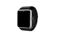Wholesale gt08 smart watches online - GT08 Bluetooth Smart Watch with SIM Card Slot and NFC Health Watchs for Android Samsung and IOS Apple iphone Smartphone Bracelet Smartwatch