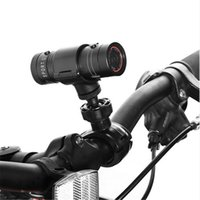 Wholesale action sports bike for sale - Full HD P DV F9 Mini Waterproof Sport Camera Bike Motorcycle Helmet Outdoor Action Camcorder DVR Video Mini Camcorder MOQ