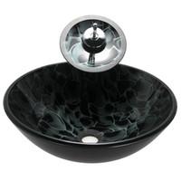 acquista online rubinetto lavello nave nero all'ingrosso da ... - Muro Angolo Di Montaggio Lavello Singolo Foro Rubinetto
