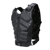 Wholesale outdoor tactical vest online - High Quality Fashion Film Special Forces Tactical Vest Outdoor Multi function Hunting Vest Cosplay Plate Carrier