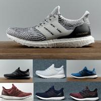 Wholesale Ultra Boost Triple Black and White Primeknit Oreo CNY Blue grey Men Women Running Shoes Ultra Boosts ultraboost sport Sneakers