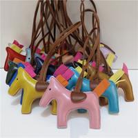 Wholesale New bag pendant female bag jewelry pony hanger car hanging tassel key chain leather CA016