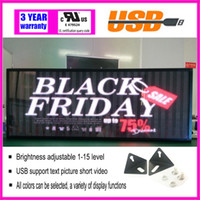 Wholesale Programmable Scrolling LED Display Signboard Advertising led screen running text symbols