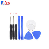 Wholesale Mobile Phone Repair Tool Kit in Pry Opening Tools Star Torx Pentalobe Screwdriver LCD Cupula with OPP Pack Free DHL Shipping