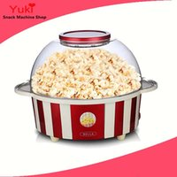 Wholesale used food machines online - 2017 Mini Electric Popcorn Machine Home Use Popcorn Maker Popular Pop Corn Maker for Family Children Snack Food Machine