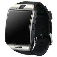 Wholesale q18 smart watch online - Q18 Smart Watch Bluetooth Smart watches For Android Phone with Camera Q18 Support TF Card NFC Connection with Retail Package DHL