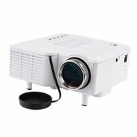 Wholesale usb pocket pc for sale - LED Projector projector UC28 Mini Portable Pocket mini PC Laptop VGA USB SD AV HDMI Input Cinema Theater p