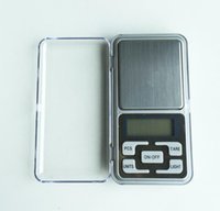 Wholesale Electronic LCD Display scale Mini Pocket Digital Scale g g Weighing Scale Weight Scales Balance g oz ct tl