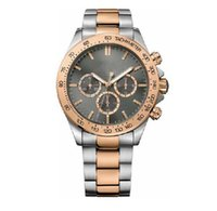 Wholesale 2018 men s Quartz Watch Men s Grey Dial Stainless Steel Band Watch