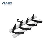 Wholesale Aluno SF Inch clip Blades1450mm H Silver Louvre window gallery home design