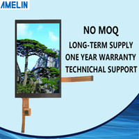 Wholesale FRD500V25103 inch MCU tft lcd screen with CTP touch panel and IPS viewing angle display