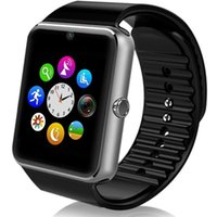Wholesale gt08 smart watches for sale - GT08 Bluetooth Smart Watch With SIM Card Slot NFC Health Watchs For Android Samsung and IOS Apple Iphone Smartphone Cradle Design
