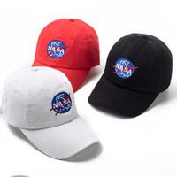 Wholesale sun hat for sale - Fashion adjustable NASA hat the Weeknd Snapback hats for men women brand hip hop dad caps sun street skateboard casquette cap