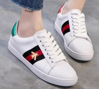 Wholesale Hot Sell embroidery Small White Shoes G Men Women low Cut Casual Flat Shoes Sneakers Unisex Zapatos Walking Shoes