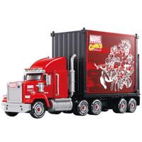 Wholesale kids transport toys online - TOMY Giant loading transport truck wagon sorting box model boy toy