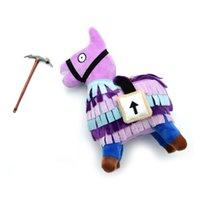 Wholesale animal toys online - Fortnite Troll Stash Llama Figure Doll Soft Stuffed Animal Toys Fortnite Stash Llama Plush Toy cartoon Stuffed doll cm