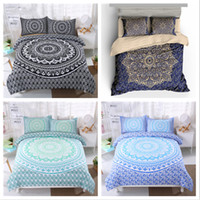 Wholesale 3d bedding set for sale - 6 Bohemian Styles Twin King Size Bedding Sets Deep Pocket Bed Sheets Queen Bedding Sets King Size Comforter Set