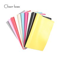 Wholesale 22 CM Solid Color Leather Fabric DIY Bags Materials Apparel Sewing Accessories For Dolls Making Wedding Party Decoration