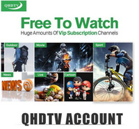 Wholesale 1 years qhdtv QHDTV CODE subscription extend FOR qhdtv apk leadcoolL ANDROID TV BOX