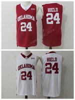 7f5b3c2b818 Men Stitched 24 Buddy Heild Jersey Basketball Oklahoma Sooners College  Jerseys Heild Uniforms Team Red Color White Sports Good Quality