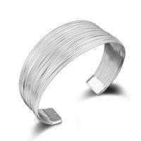 Wholesale mens steel bracelet wholesale for sale - 28 mm Sterling Silver Multi Links Bracelats Designer Bracelet Stainless Steel Jewelry Mens Chain Bangles Luxury Jewelry Braccialetto