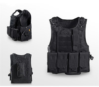 Wholesale outdoor tactical vest for sale - Outdoors Security Hunting Jackets Train Tactical Curettage Vest Wear Resisting Vests Camouflage Wind Proof Color Moisture Absorption qy jj