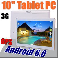 Wholesale New Arrival Inch Tablet PC MTK6582 Octa Core Android Tablet GB RAM GB ROM mp IPS Screen GPS G phone Tablets E PB