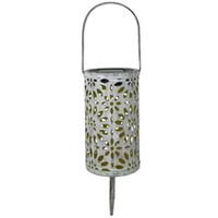 Wholesale Antique Solar Lantern Atmosphere Light Indoor Table Light Metal Waterproof Outdoor Lawn Garden landscape Light LED Decor Lamp