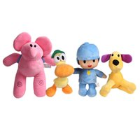 Wholesale baby boy soft toys online - Pocoyo Series Plush Toys Yoyo Pato Loula Stuffed Animals Doll Classic Baby Kids Soft Cute Gift For Boys And Girls wb YY