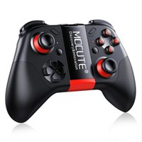 Wholesale pc game controller android online - 054 Wireless Gamepad Bluetooth Game Controller Joystick For Android iSO Phones Mini Gamepad Tablet PC VR TV box
