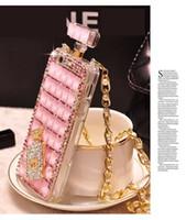 Wholesale luxury perfume bottle case for apple for sale - for iPhone7 Diamond Perfume Bottle Phone Accessories Anti Gravity Lady Luxury Women Case for Iphone s Plus iphonex