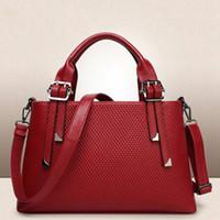 Wholesale faux leather ladies online - Europe luxury brand women bags handbag Famous designer handbags Ladies handbag Fashion tote bag women s shop bags backpack