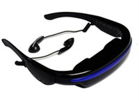 Wholesale New Hot GB quot Wide Screen HD D Stereo Virtual Video Glasses Eyewear Mobile Theatre Music Player Ebook