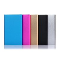 Wholesale power bank online - Ultra Slim Portable Power Bank batteries Powerbank External Battery Charger Backup power bank With Package