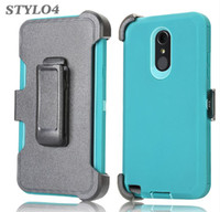 Wholesale For Samsung J3 prime J7 J7 A310 A510 A710 A6 in Rugged Hybrid Hard Phone Case With Belt Clip