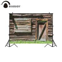 Wholesale barn doors online - background for photo studio rustic wood house door barn photography backdrop photobooth photocall customize