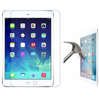 Wholesale tempered glass film online - 9H Premium Tempered Glass Screen Protector Film For New iPad Pro Air Air2 MINI4 Pro NO Package