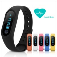 Wholesale m2 smart bracelet online - M2 Smart Bracelet smart watch Heart Rate Monitor bluetooth Smartband Health Fitness Smart Band for Android iOS with package