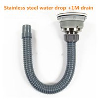 Wholesale Kitchen sink popper vintage stainless steel sink basket basket dropper drain fittings