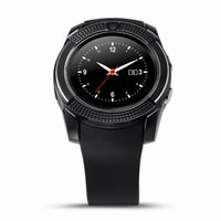 Wholesale V8 Smart Watch Wristband Watch Band With M Camera SIM IPS HD Full Circle Display Smart Watch For Android System With Box