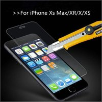 Wholesale For iPhoneXs MAX XR X XS PLUS Tempered Glass Screen Protector for iPhone PLUS Phone Protective Film SPF01