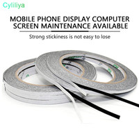 Wholesale 2 mm M M black double sided adhesive tape for mobile phone LCD Touchscreen