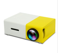 Wholesale YG300 LED Portable Projector LM mm Audio x Pixels YG HDMI USB Mini Projector Home Media Player New arrive