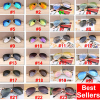 Wholesale cycling sunglasses online - DHL shipping Europe and US hot sunglasses sport cycling eye sunglasses for men fashion dazzle colour mirrors glasses frame sunglasses