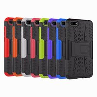 Wholesale hard plastic tire online - ShockProof Case For Huawei Y5 Y6 Y9 Honor Xiaomi X Redmi S2 One Plus Dazzle Hybrid Defender Rugged Hard PC TPU Covers Tire Coque
