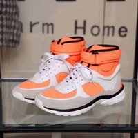 Wholesale tennis shoes brand online - Cheap Famous Brand Womens Sneakers Shoes Top Quality Sneakers Genuine Leather Sneakers Tennis CN Orange Shoes