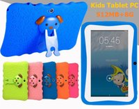 Wholesale 7in children tablet pc mb gb with case